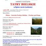 Tatry Bielskie 9.07.16