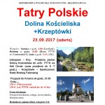 Tatry Polskie 23.09.2017