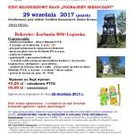 XXVI Młodzieżowy Rajd Poznajemy Bieszczady 29.09.2017