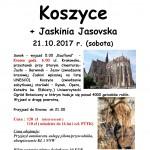 Koszyce +Jaskinia Jasovska 21.10.2017