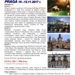 Praga 10-12.11.2017r.