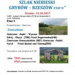 Szlak Niebieski etap II 15.10.2017