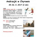 Andrzejki w Chyrowie 25-26.11.2017