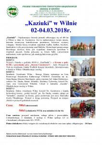 Kaziuki w Wilnie 02-04.03.2018r.