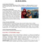 Karnawał w Wenecji 02-05.02.2018r.