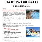 Hajduszoboszlo 12-15.08.2018
