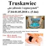 Truskawiec 27.04-01.05.2018