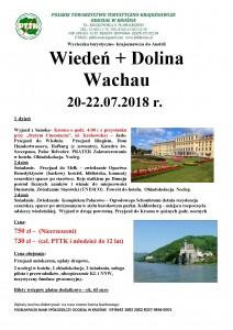 Wiedeń+Dolina Wachau 20-22.07.2018