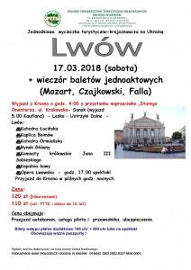 Lwów 17.03.2018r.