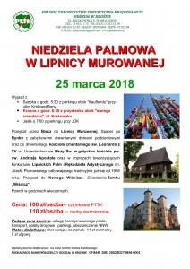 Niedziela Palmowa w Lipnicy Murowanej 25.03.2018
