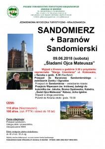 Sandomierz+Baranów Sandomierski 09.06.2018