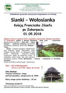 Sianki -Wołosianka 01.05.2018