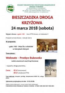 Bieszczadzka Droga Krzyżowa 24.03.2018