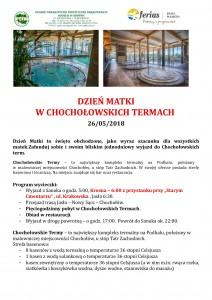 Dzień MatKi w Chochołowskich Termach str.1- 26.05.2018