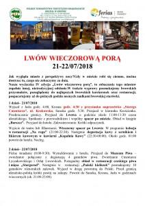 Lwów wieczorową porą 21-22.07.2018 str 1