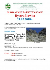 Słowackie Tatry Wysokie - Bystra Ławka 21.07.2018 str 1