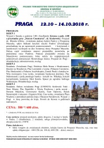 Praga 12-14.10.2018