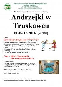Andrzejki w Truskawcu 01-02.12.2018