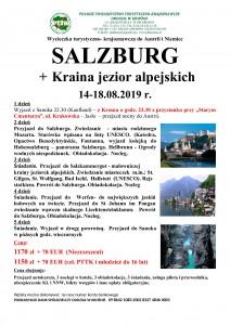 Salzburg 14-18.08.2019r.