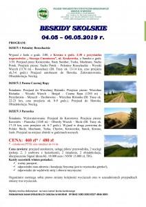Beskidy Sokolskie 04.05-06.05.2019