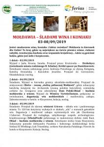 Mołdawia - śladami wina i koniaku 03-08.09.2019 str 1