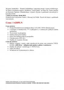 Włochy Skarby Itali 14.06-20.06.2019r. str 2