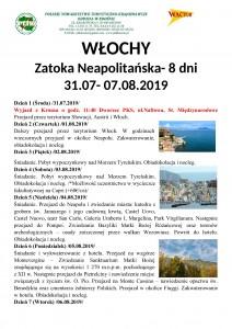 Włochy Zatoka Neapolitańska 31.07-07.08.2019 str 1