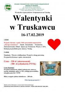 Walentynki w Truskawcu 16-17.02.2019