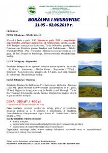 Borżawa i Negrylowiec 31.05-02.06.2019