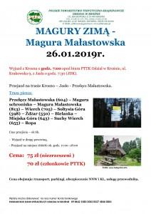 Magura Małastowska 26.01.2019r.
