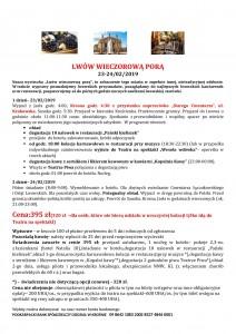 Lwów wieczorową porą 23-24.02.2019