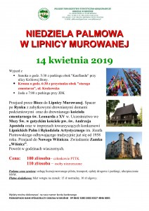 Niedziela Palmowa w Lipnicy Murowanej 14.04.2019