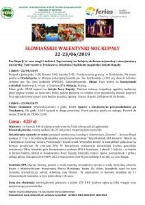 Noc Kupały 22-23.06.2019