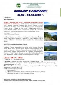 Gorgany z Osmołody 02-04.08.2019