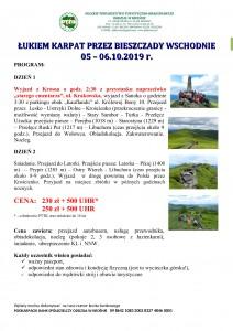 Łukiem Karpat przez Bieszczady Wschodnie 05-06.10.2019