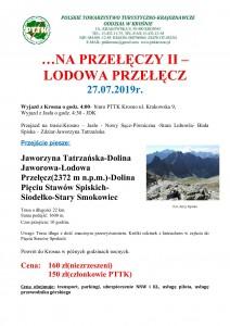 Na Przełęczy II - Lodowa Przełęcz 27.07.2019 str 1