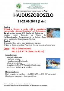 Hajduszoboszlo 21-22.09.2019r