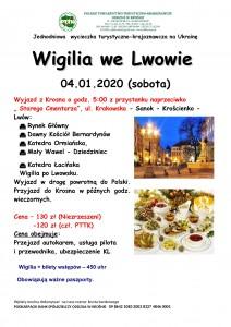 Wigilia we Lwowie 04.01.2020